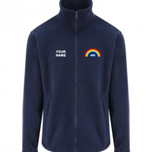 NHS Rainbow Fleece – Navy