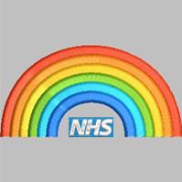 NHS Rainbow Windcheater