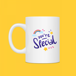 You're So Special Rainbow Mug