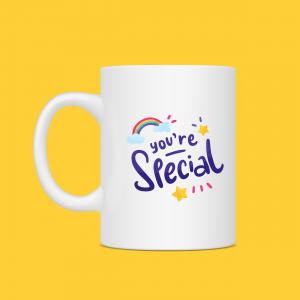 You're So Special Rainbow Mug
