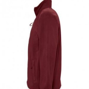 Rainbow Fleece – Burgundy