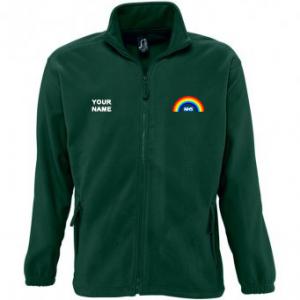 NHS Rainbow Fleece – Green