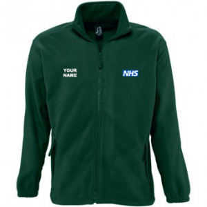 NHS Fleece – Green