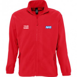 NHS Fleece – Red