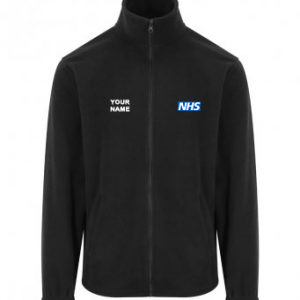 NHS Fleece – Black