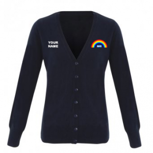 NHS Rainbow Cardigan