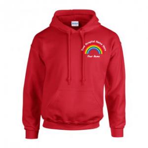 Personalised Rainbow Hoodie