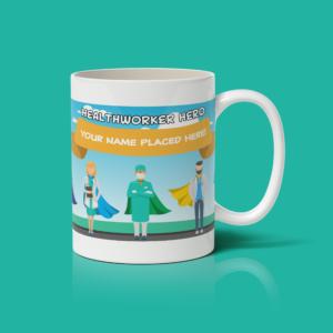 Personalised Healthworker Hero Mug