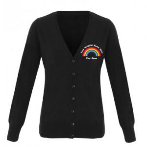 Personalised Rainbow Cardigan