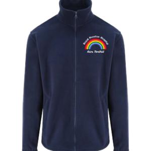Personalised Rainbow Fleece